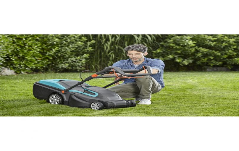 Máy cắt cỏ đẩy tay gardena